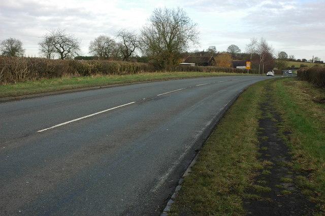 A422 near Inkberrow