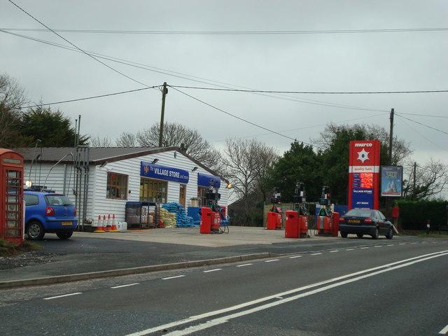 Petrol station and village store, Selmeston