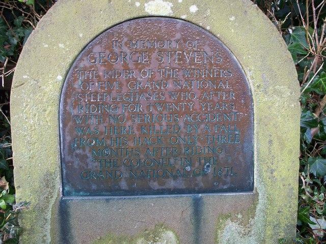 Memorial to George Stevens