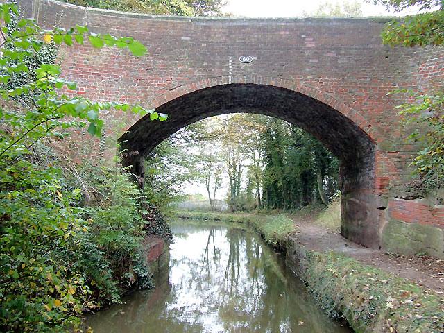 Bridge No 60 near Armitage, Staffordshire