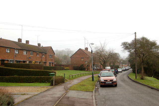 Looking east along Fosterd Road, Rugby