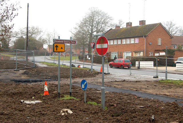 Defunct road signs 'marooned'