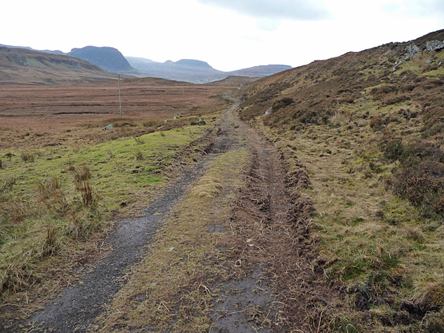 Hill track to Talisker