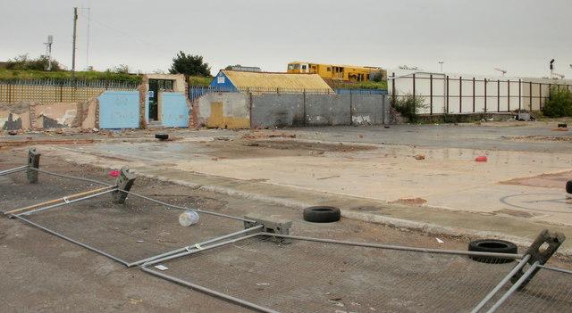 Derelict site, Turner Street, Newport