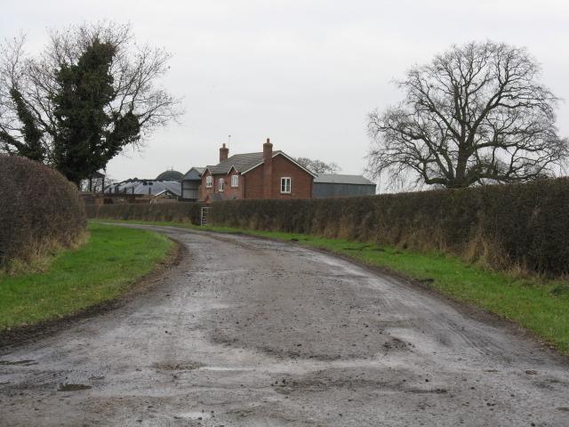 Entrance To Curtishulme Farm