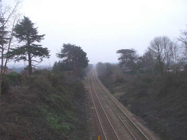 Looking south from Llanishen station