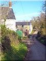 SW7823 : Farm buildings at Treglossick by Rod Allday