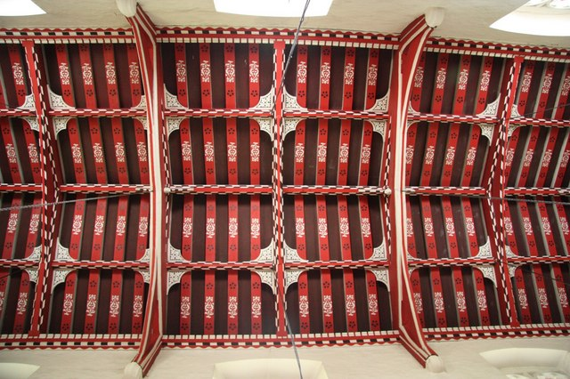 All Saints' nave roof