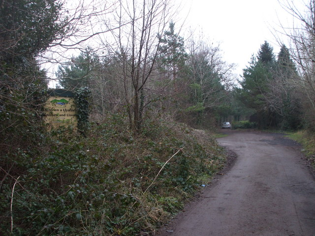 Entrance to Llanishen and Lisvane reservoirs