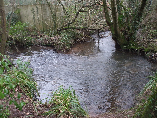 The Nant Fawr near Llanishen reservoir