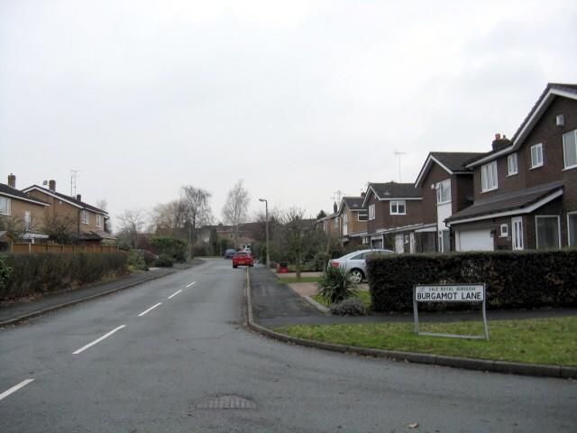 Comberbach - Burgamot Lane