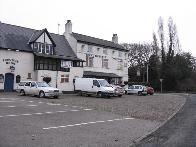Great Budworth - Cock O' Budworth Pub