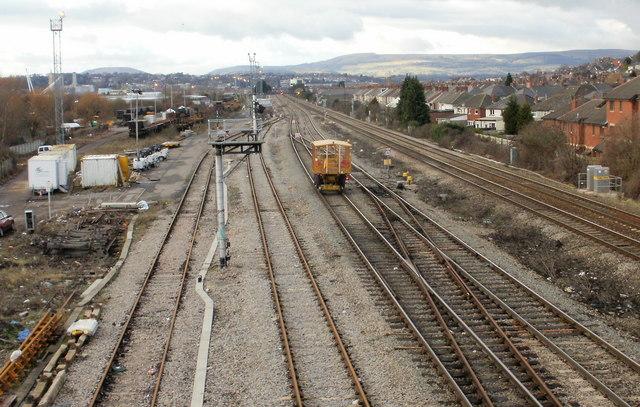 Somerton track maintenance, Newport