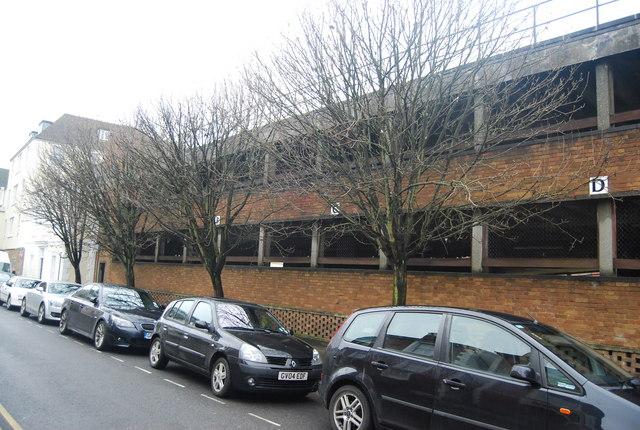 Multi-storey car park from Calverley St