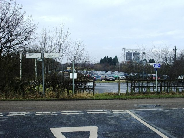 Whisby Nature Centre car park