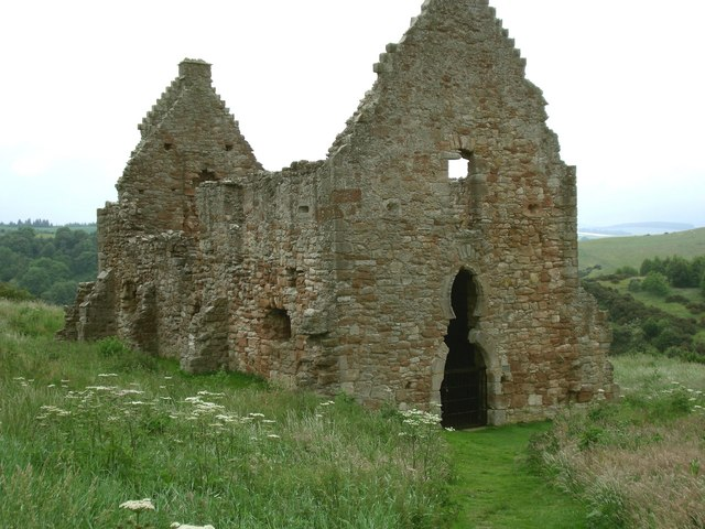 Crichton Castle, stables