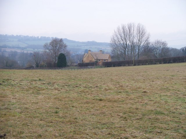 Farmland near Wheelbarrow Castle