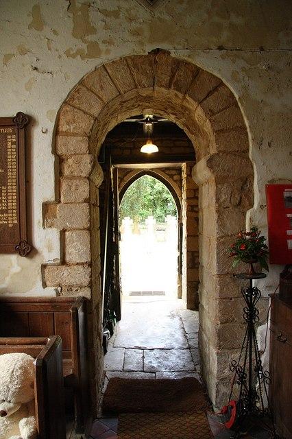 Saxon tower arch