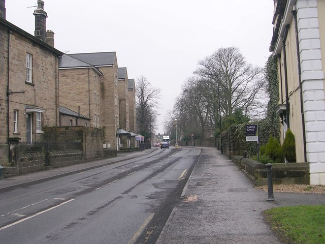North Park Road - viewed from Park Parade
