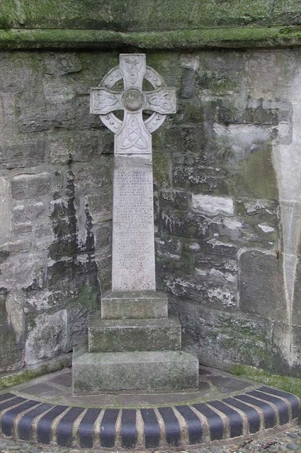 Christ Church, Hampstead Square, London NW3 - Memorial