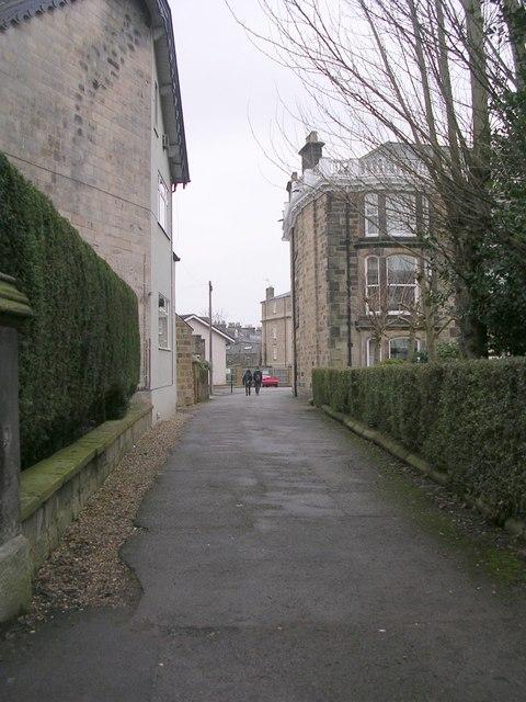 Footpath - Park Parade