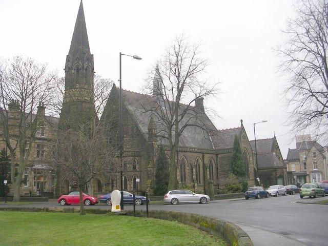 Harrogate Baptist Church - viewed from Victoria Avenue