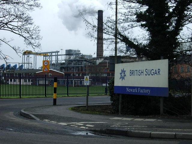 British Sugar factory, Newark