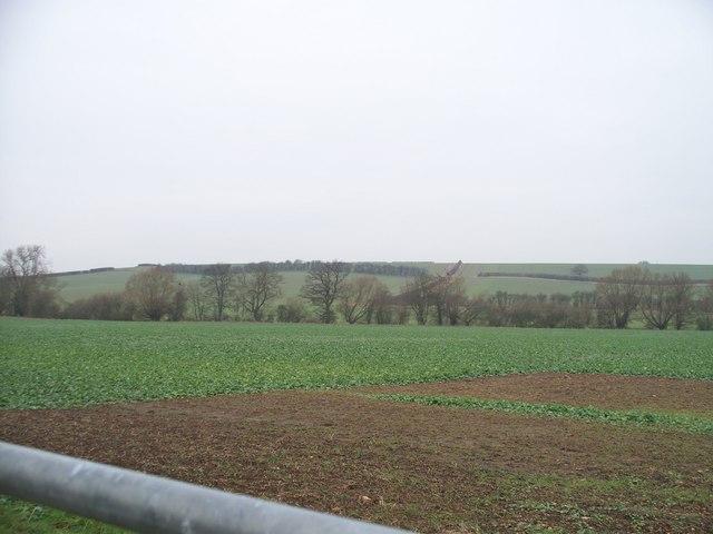 North Cotswold farmland