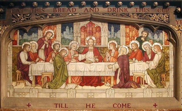 Christ Church, Hampstead Square, London NW3 - Reredos