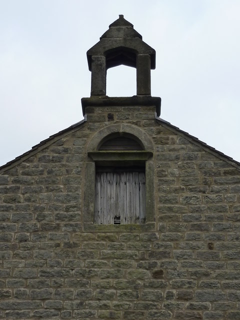Bell turret ; farm building at Calver