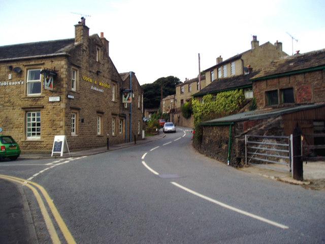 Tong Lane, Whitworth, Lancashire