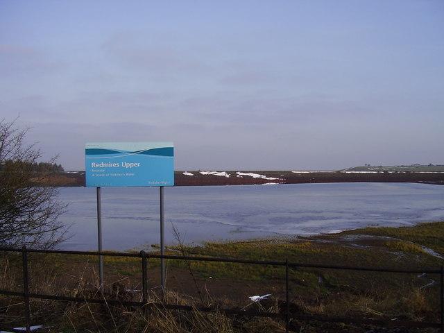 Redmires Upper reservoir