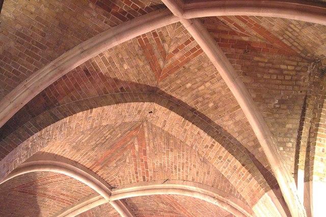 St Peter, Kennington Lane, London SE11 - Vaulting