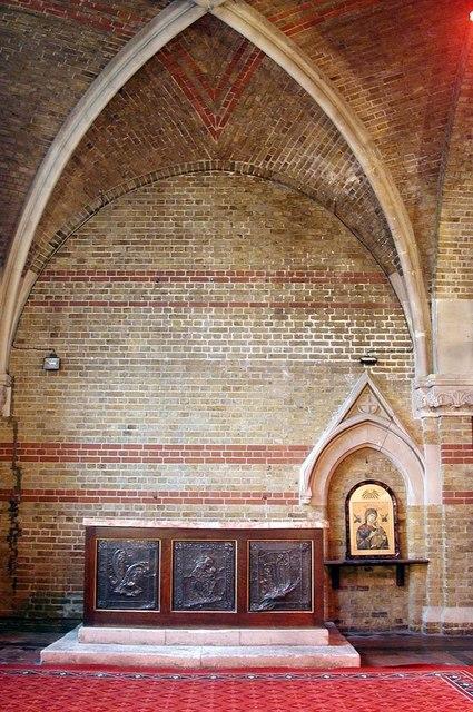 St Peter, Kennington Lane, London SE11 - Lady chapel