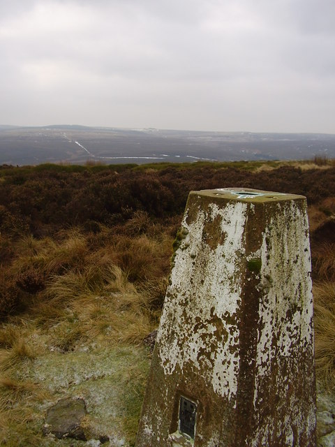 Rod moor trig pillar