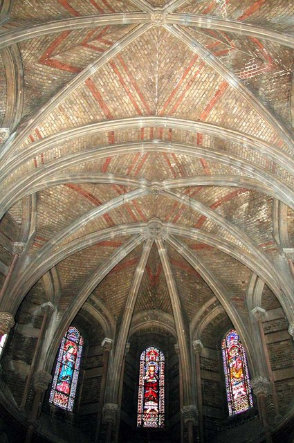 St Peter, Kennington Lane, London SE11 - Apse roof