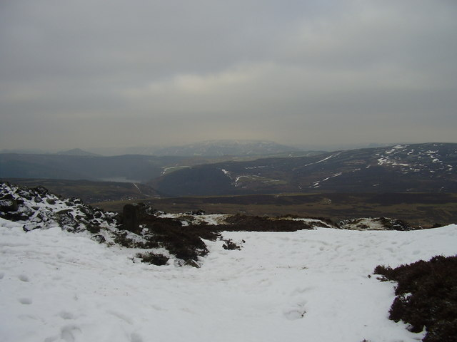 Wintry view from Stanage End