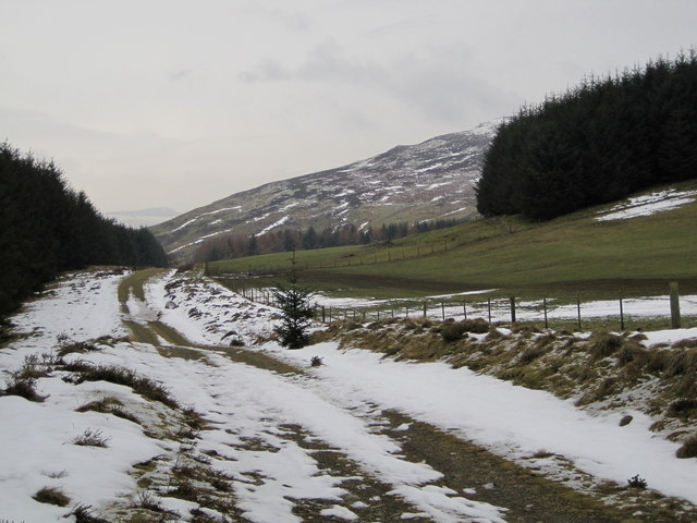 Old Post Road near Black Meldon