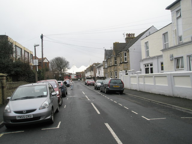 A dull January morning in Walton Road