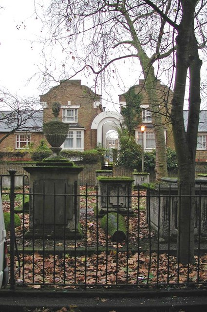 St John at Hackney, Lower Clapton Road, London E8 - Churchyard