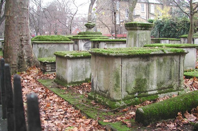 St John at Hackney, Lower Clapton Road, London E8 - Churchyard