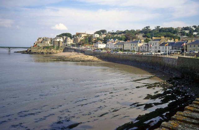 Sea front at Clevedon