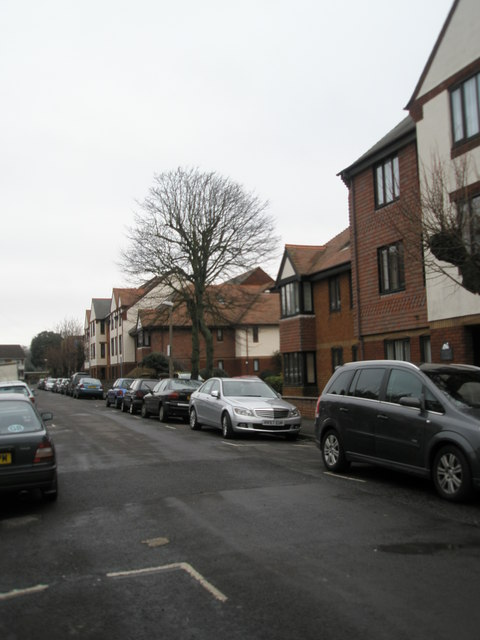 A dull January morning in Campbell Road