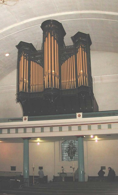 St John at Hackney, Lower Clapton Road, London E8 - Organ