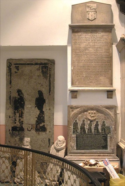 St John at Hackney, Lower Clapton Road, London E8 - Wall monuments