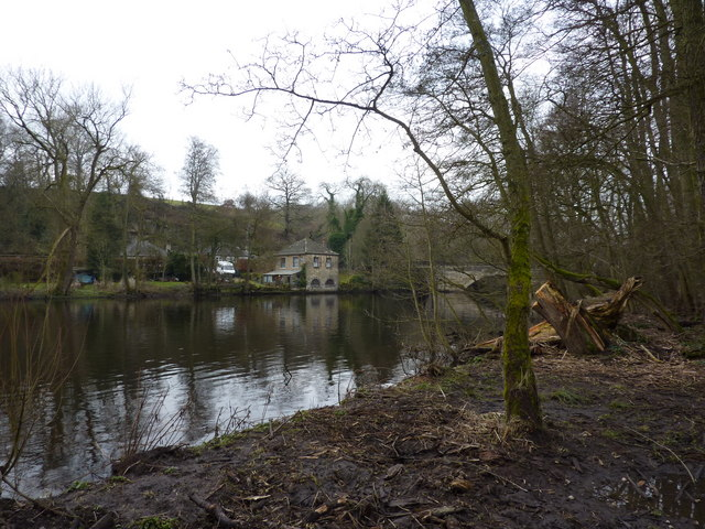 Houses by New Bridge, Calver
