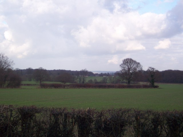 View from Bethersden Road