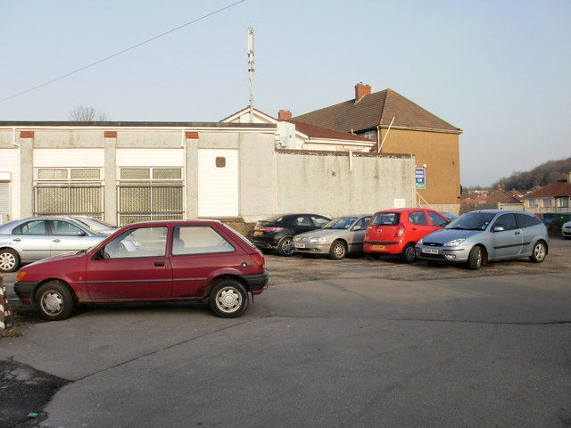 Hollybush car park and Malpas Unionist Club