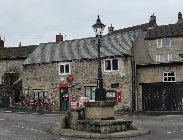 Post Office and Posty bikes, Calver