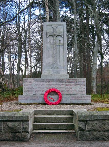 Crathie War Memorial